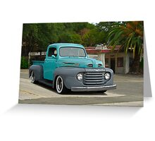1950 Ford Pickup Truck Greeting Card