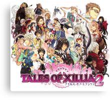 Xillia 2 Characters (ToX 2) Canvas Print