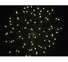 Firework3 Photographic Print