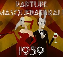 Bioshock: Masquerade propaganda by mariafumada