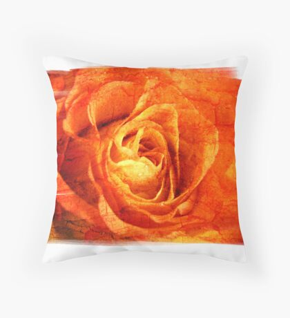 Earth Fire Throw Pillow