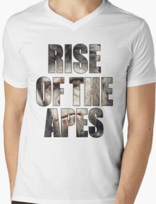 Rise Of The Apes Mens V-Neck T-Shirt