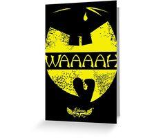 Waaaah by lilterra.com Greeting Card