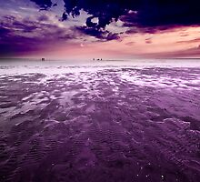 Purple twilight by Csaba Jekkel