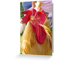 Bartleby, King of the Roosters Greeting Card