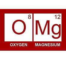 O-Mg - Oxygen Magnesium Photographic Print