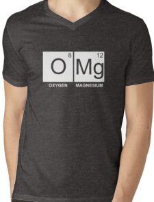O-Mg - Oxygen Magnesium Mens V-Neck T-Shirt
