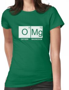 O-Mg - Oxygen Magnesium Womens Fitted T-Shirt