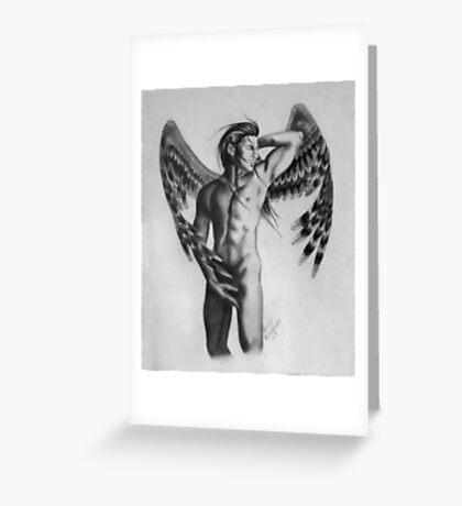"Grymmsongs ""Angel"" Greeting Card"
