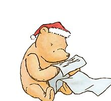Pooh - Making a List by abananapepper