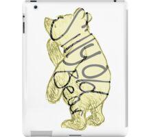 Silly Old Bear iPad Case/Skin