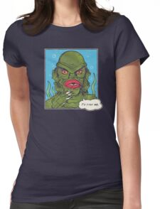 The Sultry Lagoon Womens Fitted T-Shirt