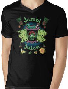 Jambi Juice Mens V-Neck T-Shirt