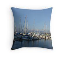 Fishermans Wharf, San Francisco Throw Pillow