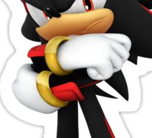 Shadow The Hedgehog- I promise you....Revenge! Sticker