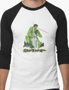 Green Monster Men's Baseball ¾ T-Shirt