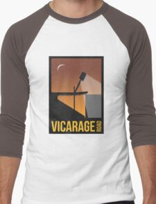 Stadium Art - Vicarage Road Silhouette Men's Baseball ¾ T-Shirt