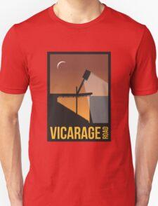 Stadium Art - Vicarage Road Silhouette T-Shirt