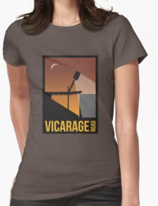 Stadium Art - Vicarage Road Silhouette Womens Fitted T-Shirt