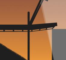 Stadium Art - Vicarage Road Silhouette Sticker