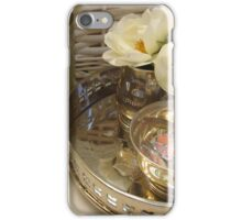 Peace in the bath iPhone Case/Skin