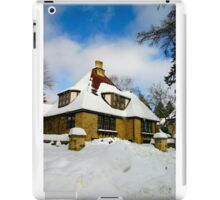 Winter Fairy Tale House iPad Case/Skin