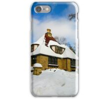 Winter Fairy Tale House iPhone Case/Skin
