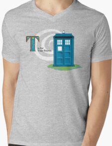 The Whophabet Mens V-Neck T-Shirt