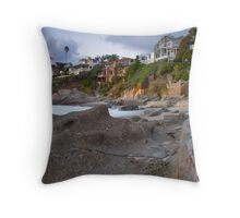 The real OC - Beachscape 1 Throw Pillow