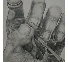 Artistic Touch (Drawing)- Photographic Print