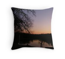 2-24 Sunset 42 Throw Pillow