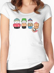 South Price Women's Fitted Scoop T-Shirt
