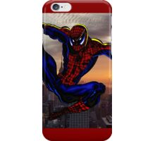 City Web Slinging iPhone Case/Skin