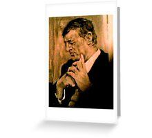 William F. Buckley, Jr    1925 - 2008 Greeting Card