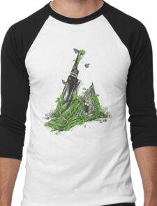 Silent Decay Men's Baseball ¾ T-Shirt