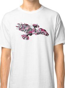 Flowerfly (white variant) Classic T-Shirt