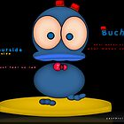 buchidu - the blue duck philosopher  by Beo Lo