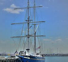 Young Endeavour in Blue by Larry Lingard-Davis