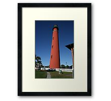 Big Red Beacon Framed Print