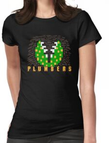 Plumbers Womens Fitted T-Shirt