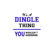It's a DINGLE thing, you wouldn't understand !! by yourname