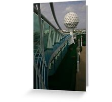 Golf at Sea Greeting Card