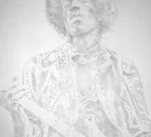 Jimmi Hendrix by Charles Ezra Ferrell