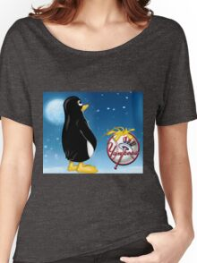 Penguin Relief Women's Relaxed Fit T-Shirt