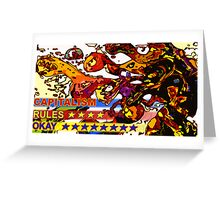 Business Card2capatalism 192 Greeting Card