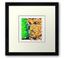 BROKEN ABSTRACT Framed Print