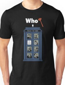 Who Dunnit? Unisex T-Shirt