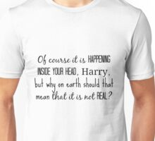 Harry Potter, Dumbledore Deathly Hallows Quote Unisex T-Shirt