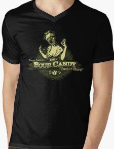Sour Hill Mens V-Neck T-Shirt