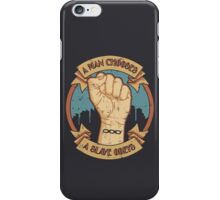 "Bioshock infinite: ""A man chooses, a slave obeys"" iPhone Case/Skin"